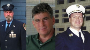 Dan Heglund, Robert Leaver and Howard Bischoff all worked at Ground Zero after 9/11.