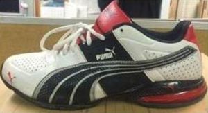 This size 8 sneaker was left behind by a would-be rapist who attacked a woman walking alone in Queens. (Photo: NYPD)