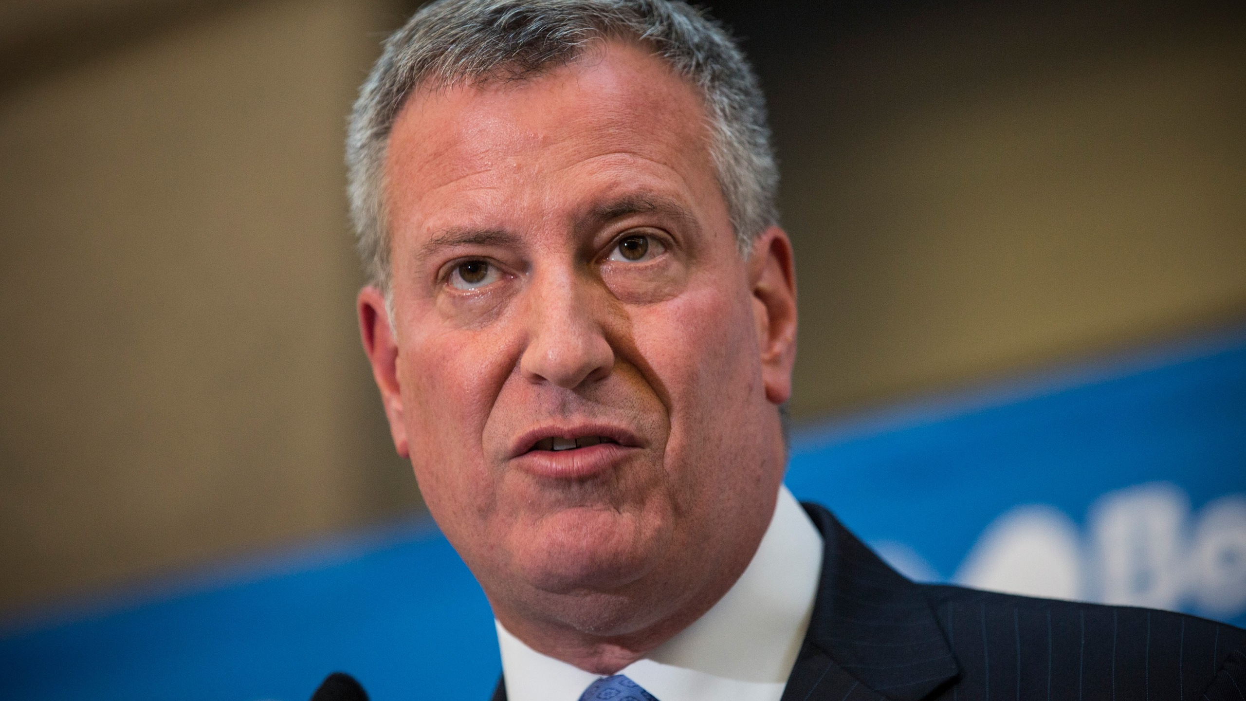 NYC police union wants de Blasio banned fromfunerals