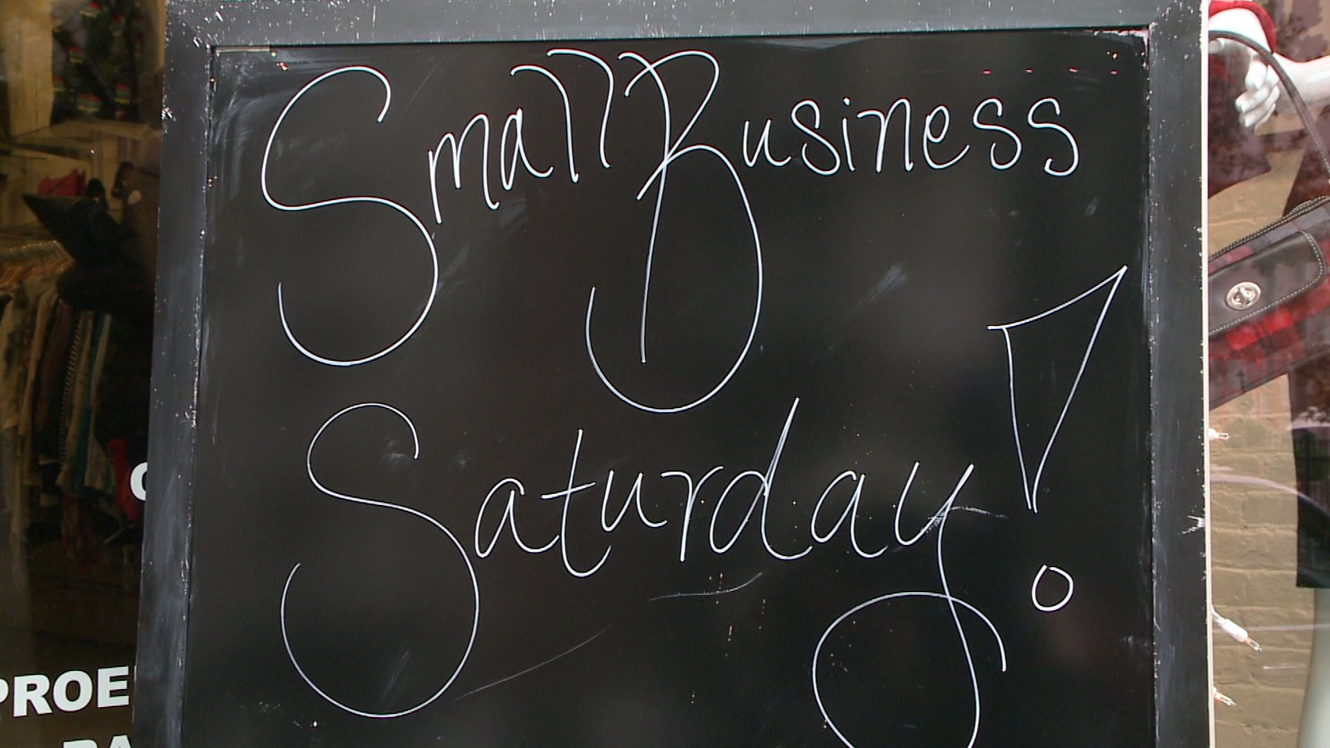 Holiday shoppers hit mom and pop shops for Small BusinessSaturday