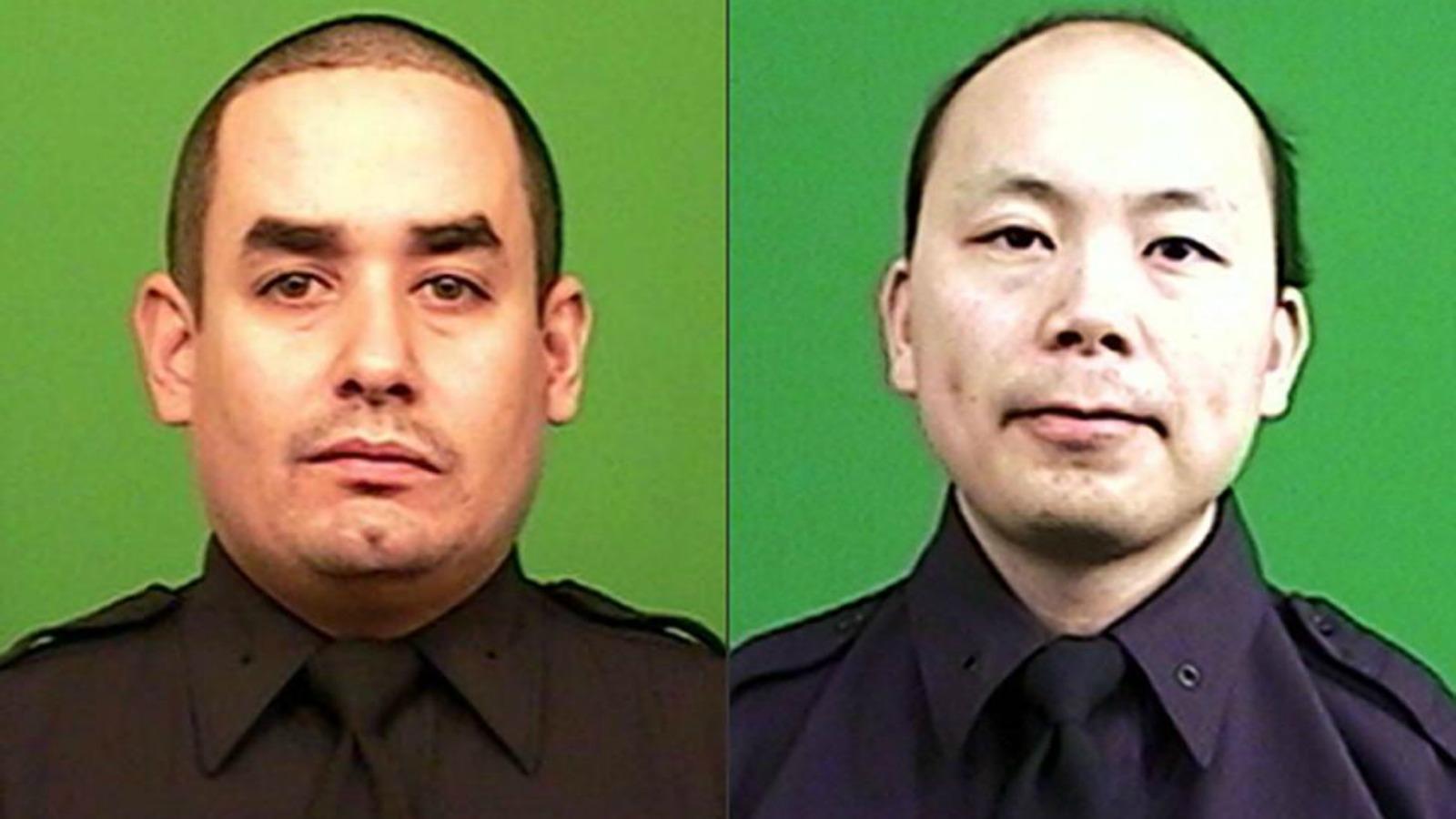 slain officers Collage