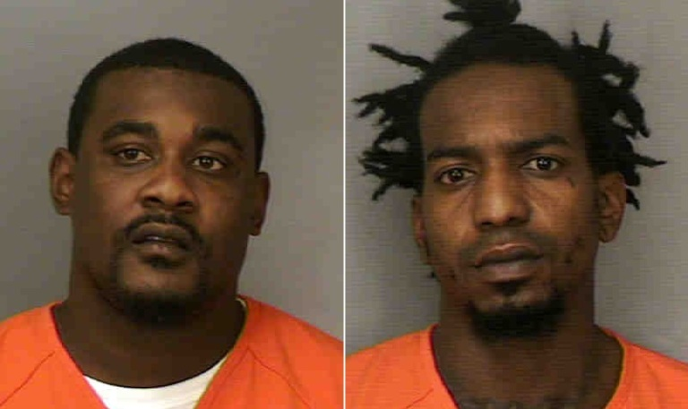 Tarus Scott and Genard Dupree were arrested after stealing from a Wal-Mart, police said. (Polk County Jail)