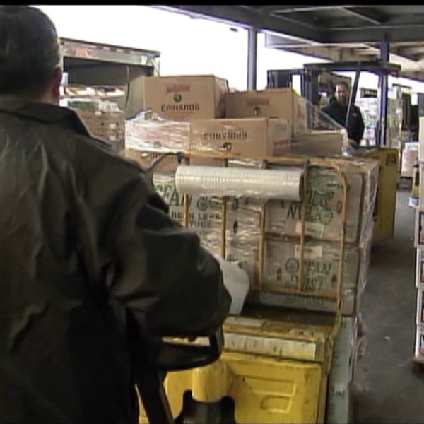 Hunts Point Market workers