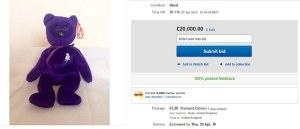The couple listed their lucky find on eBay for a starting bid of £20,000 ($29,890). (Photo: Daily Mail)