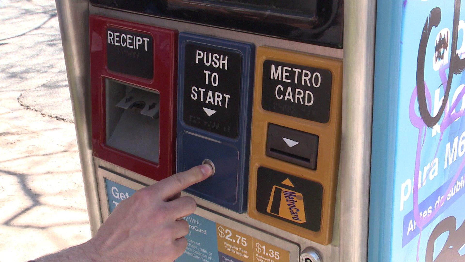 MetroCard machines