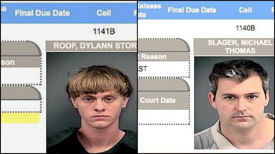 The accused Charleston church shooter Dylann Roof and Michael Slager, the former police officer who shot Walter Scott in the back, are jail neighbors, police confirm.