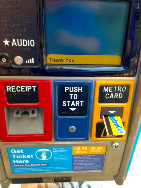 Broken MetroCard machines frustrateriders