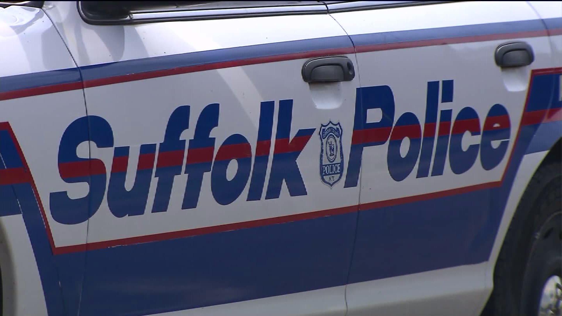 Suffolk County Police car