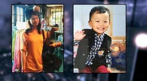 Zhao Hui Zheng and her son Aldrin He were last seen July 4. (DCPI)