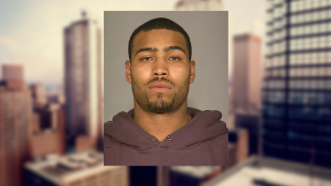 Alfonso Skeeter, 27, is wanted for the murder of Roy Rosello. (Photo: DCPI)