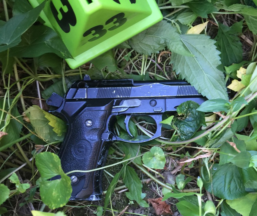 Fake gun found at scene where two people were shot during undercover NYPD operation (NYPD)