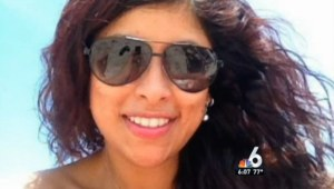 Maria Nemeth died, allegedly at the hands of a rage-fueled attack by her boyfriend. (NBC Miami)
