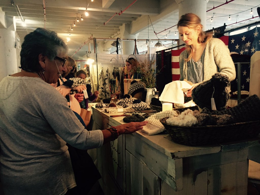 Shoppers support local stores for Small BusinessSaturday