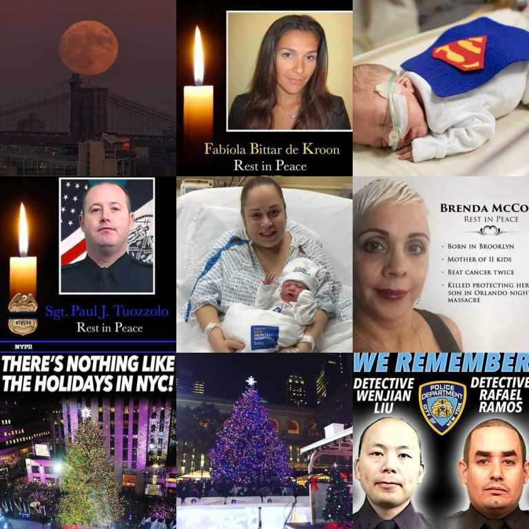 PIX11 News' Best Nine Instagram collage as of Dec. 29.