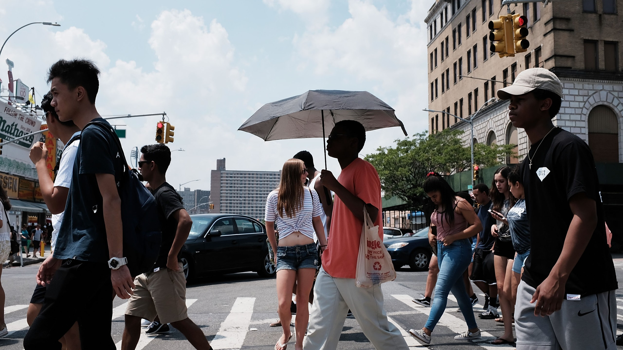 Heat descends on nyc