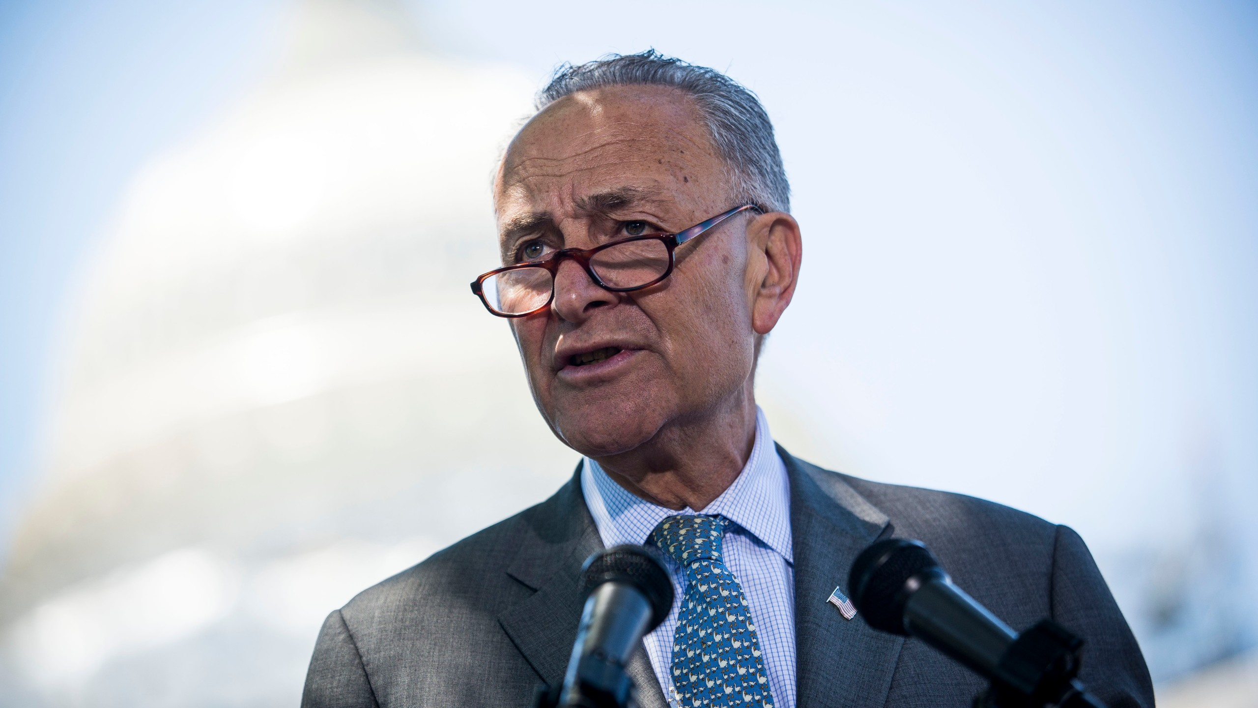 Schumer vows push for bill to improve phone access during emergencies