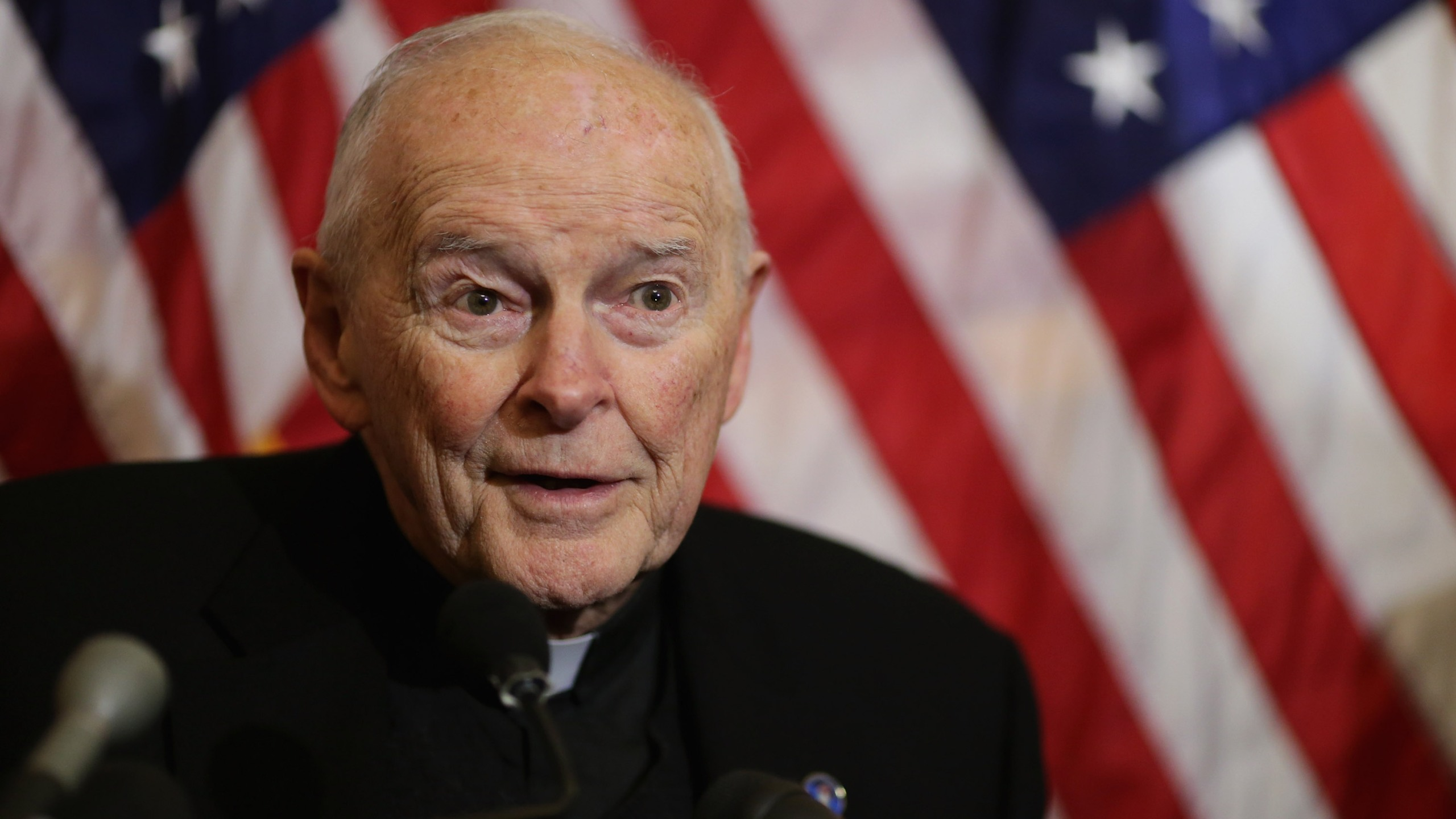 Cardinal Theodore McCarrick of Washington resigns after altar boy sex abuseallegation