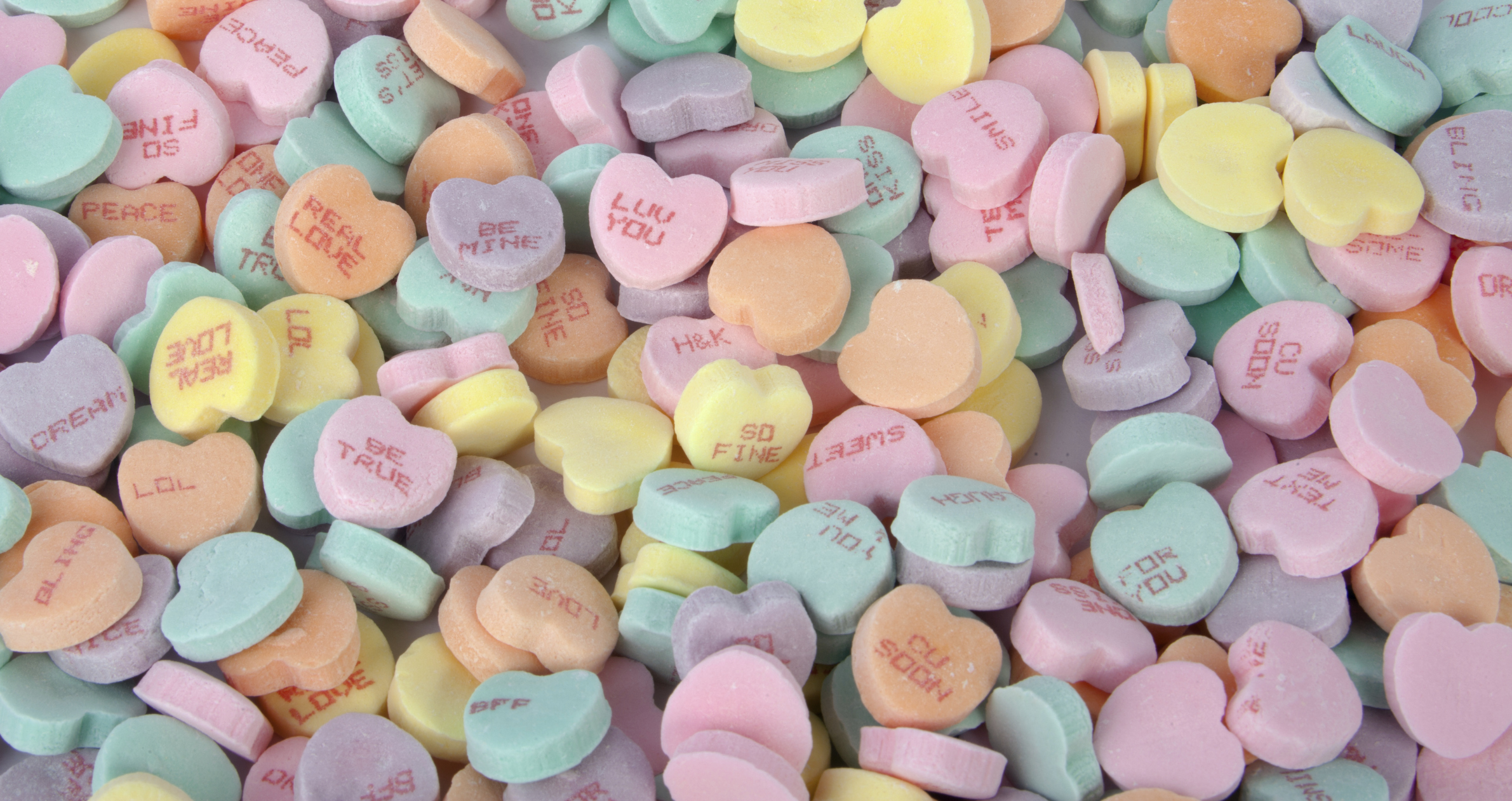 Sweethearts will be missing from store shelves this Valentine's Day