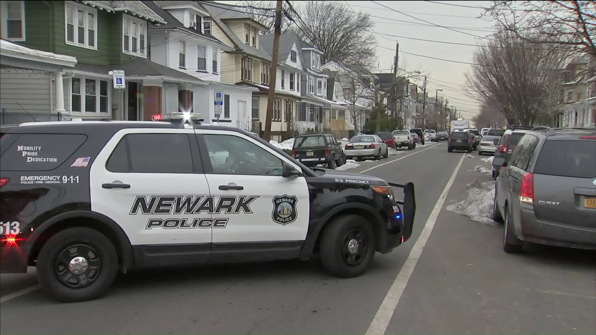 Newark police vehicle