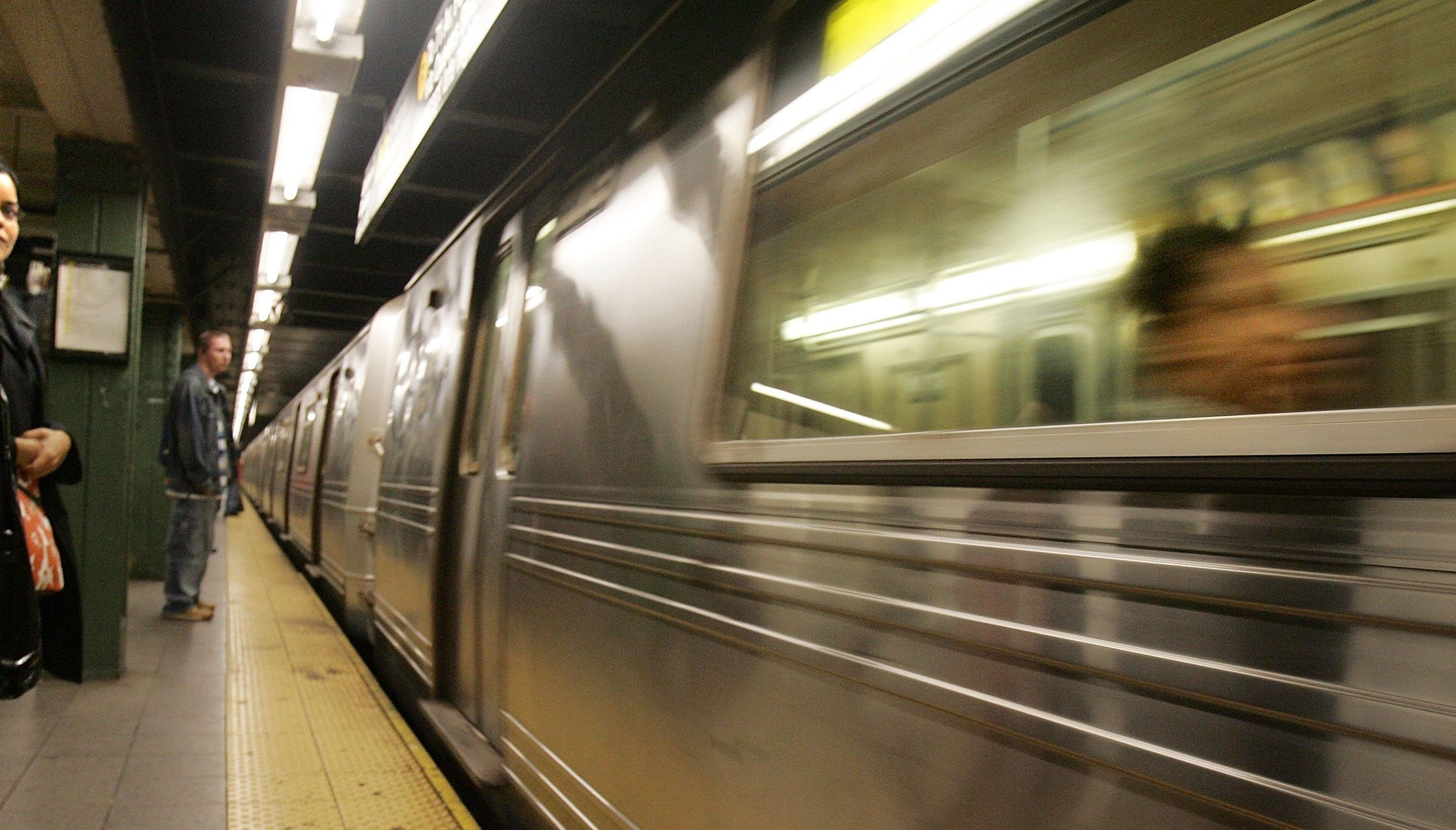 Major delays on J trains due to smoking tracks at CanalStreet