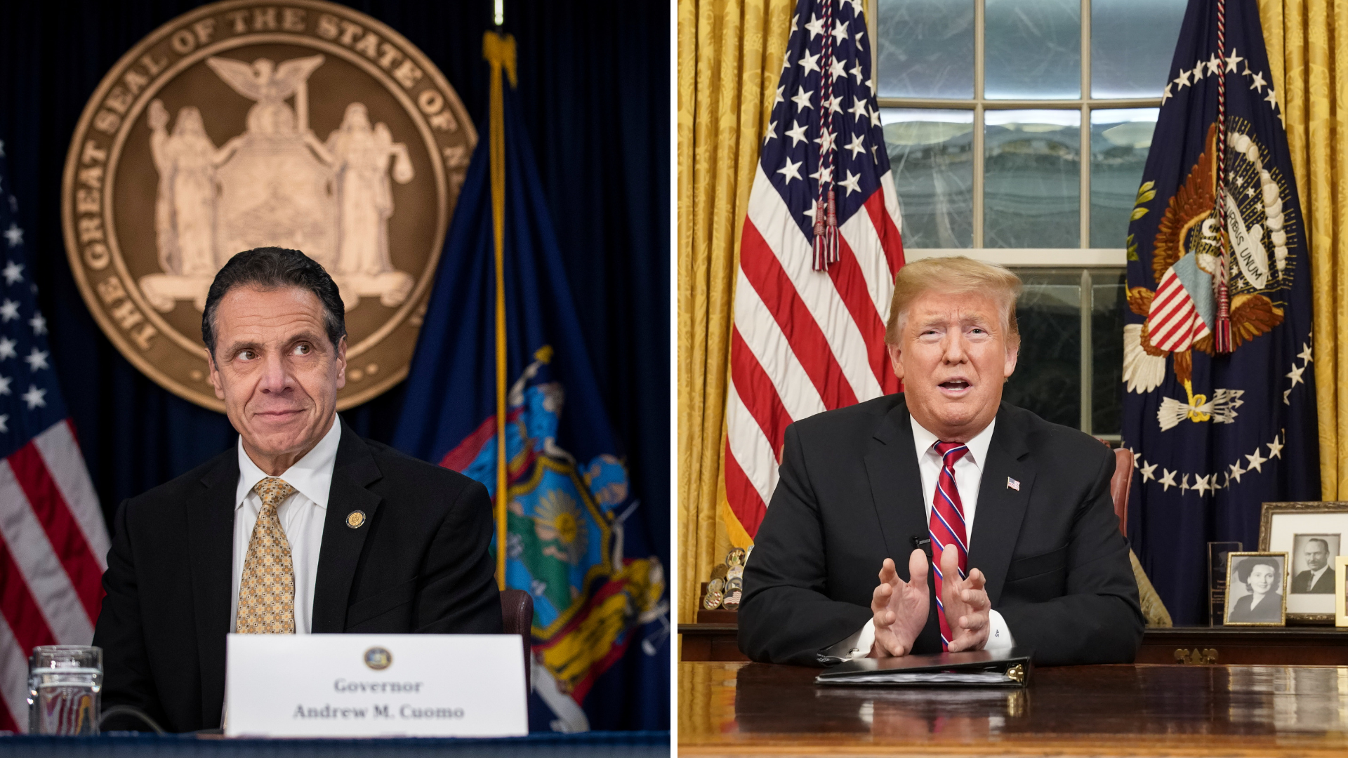 Trump and Cuomo spar over New York's bail reformlaw