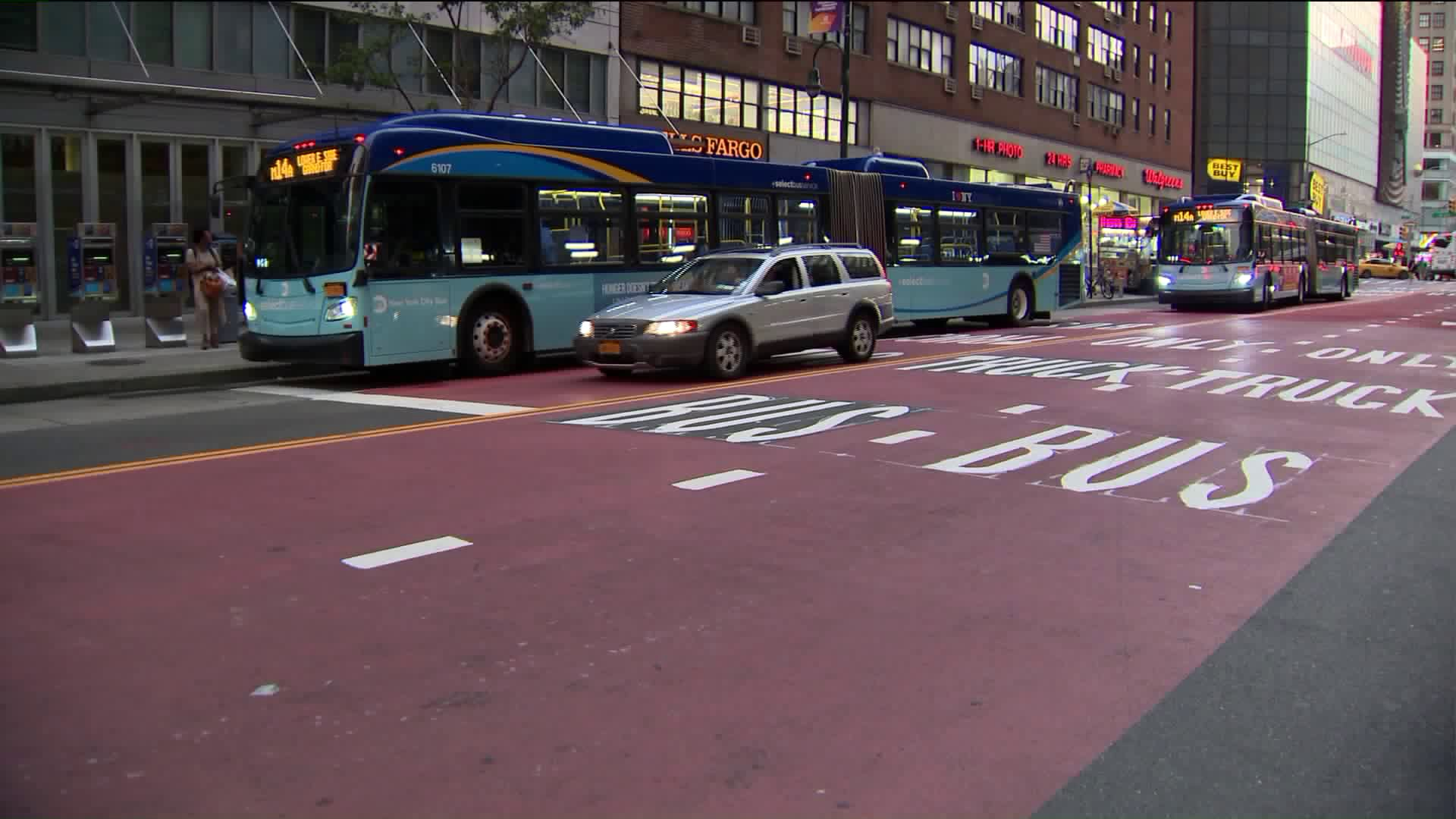 Judge blocks 14th Street busway days before rollout