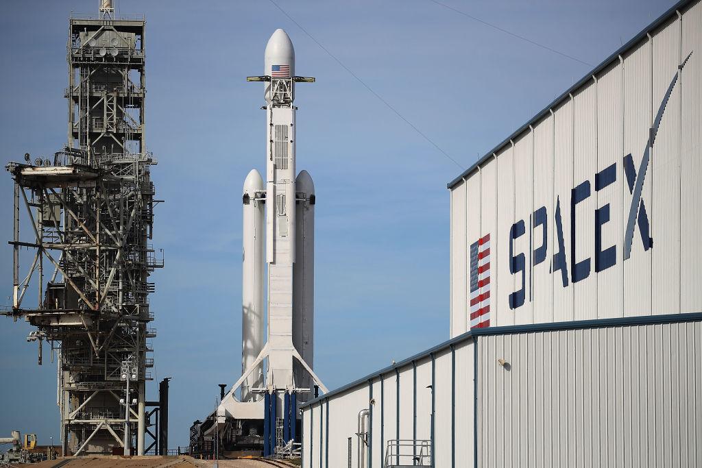 Santa's sleigh or UFO? SpaceX launches 60 satellites Monday night