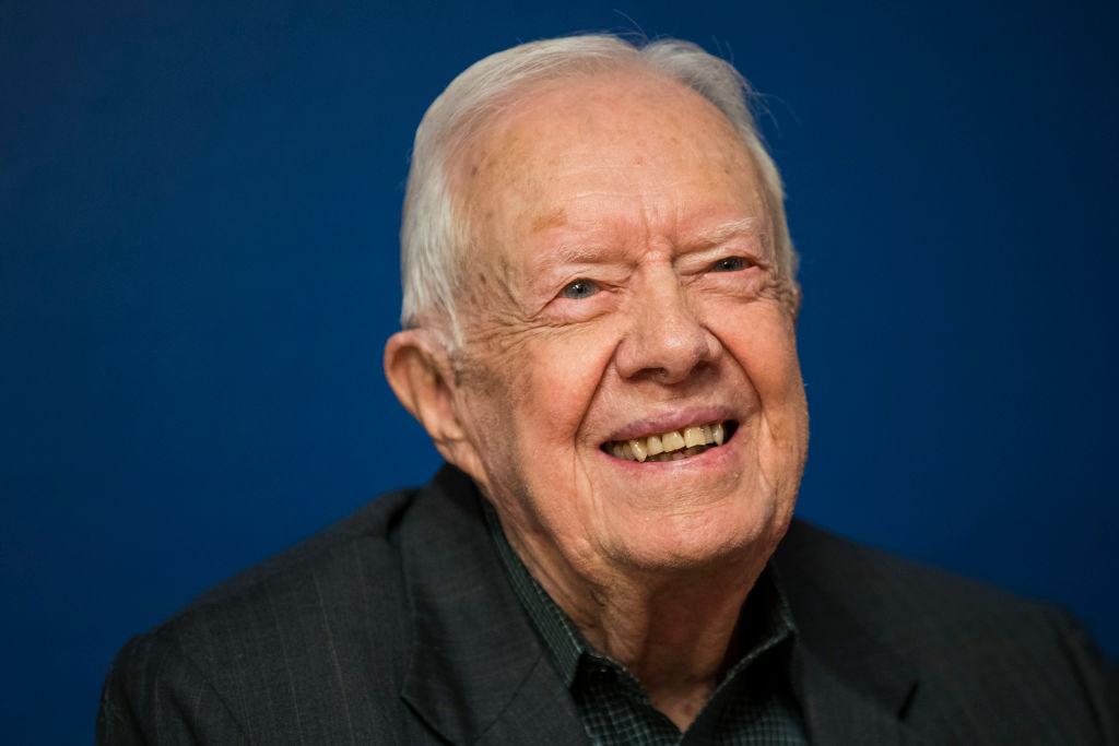 Jimmy Carter returns to Georgia church following brain surgery