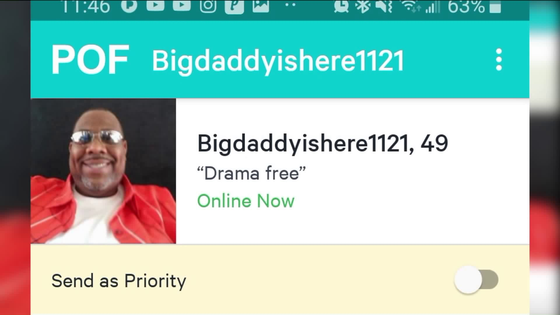 Pof phone number scams