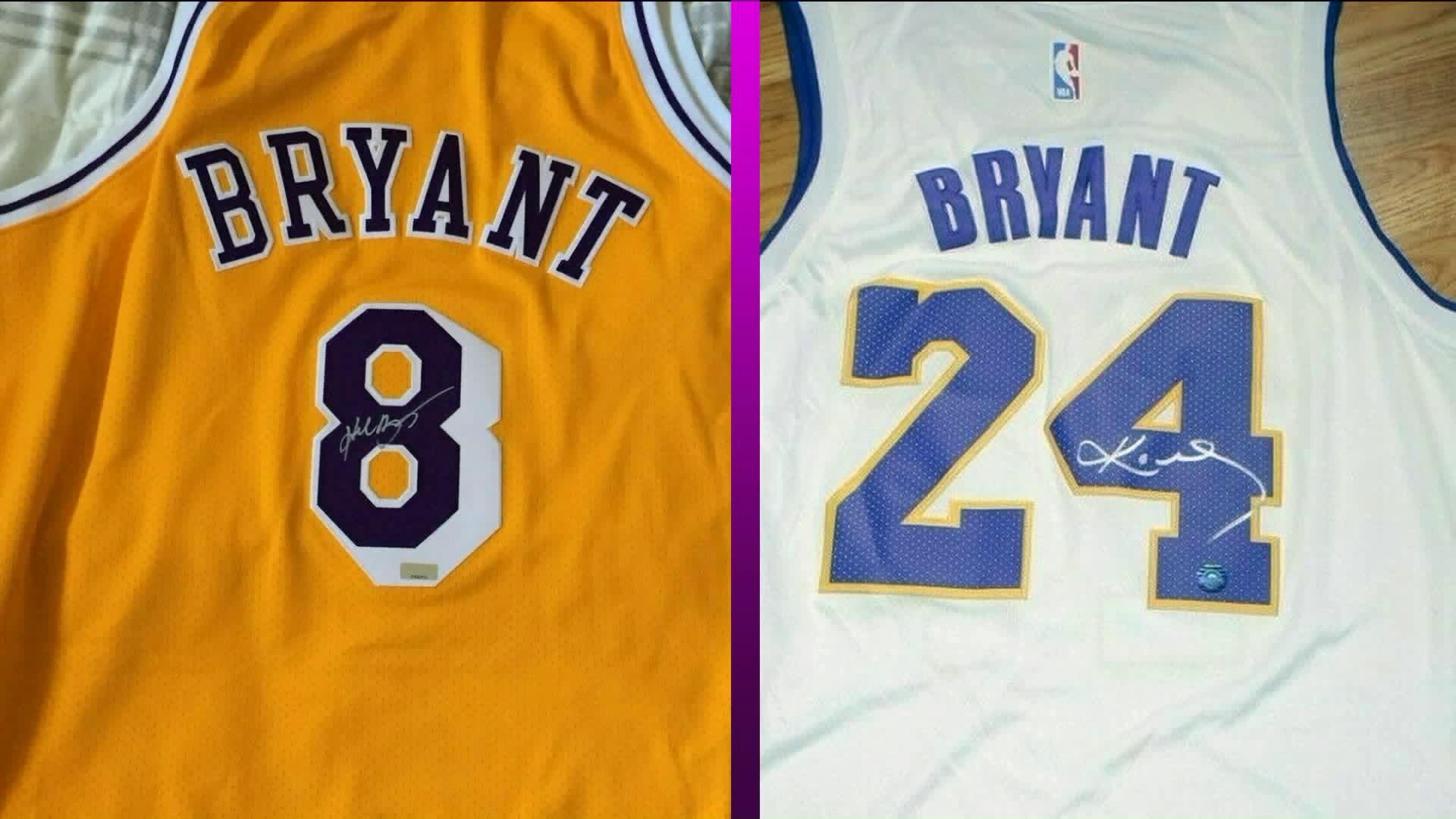 Fake Kobe Bryant memorabilia flooding the market | PIX11