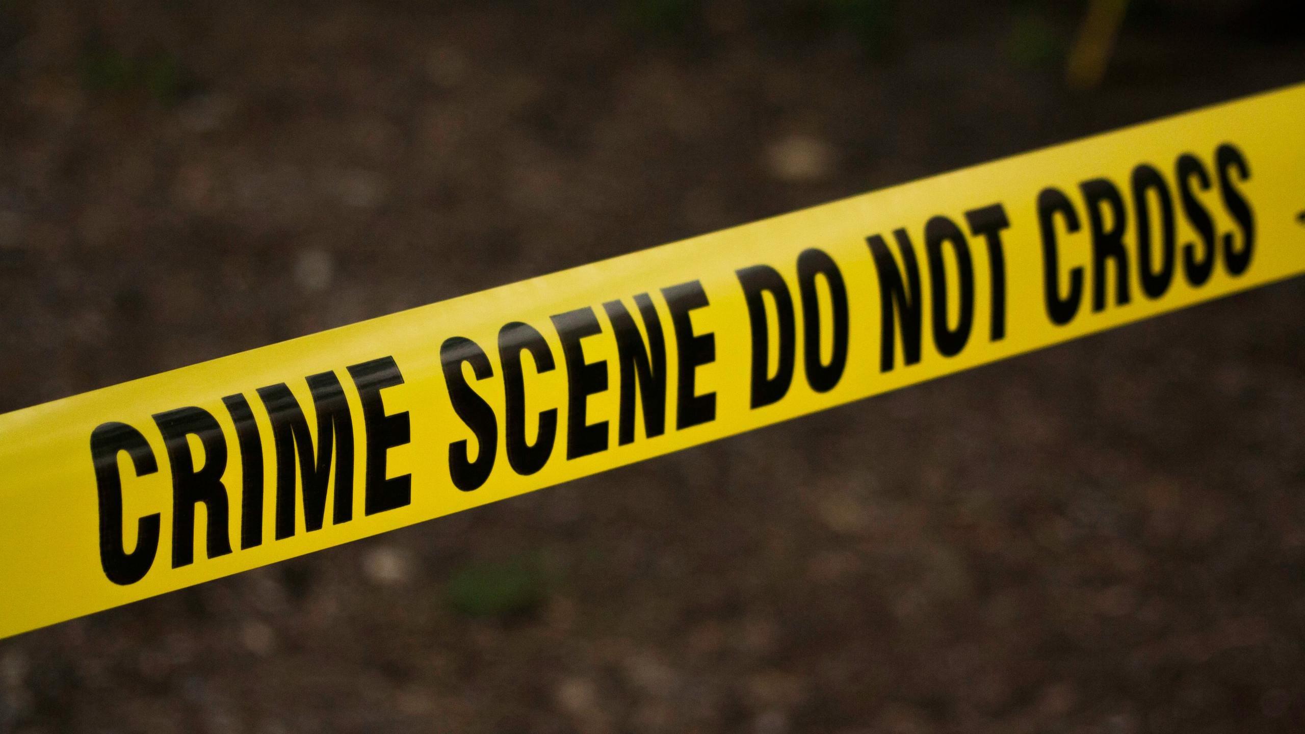 Police line, crime scene line