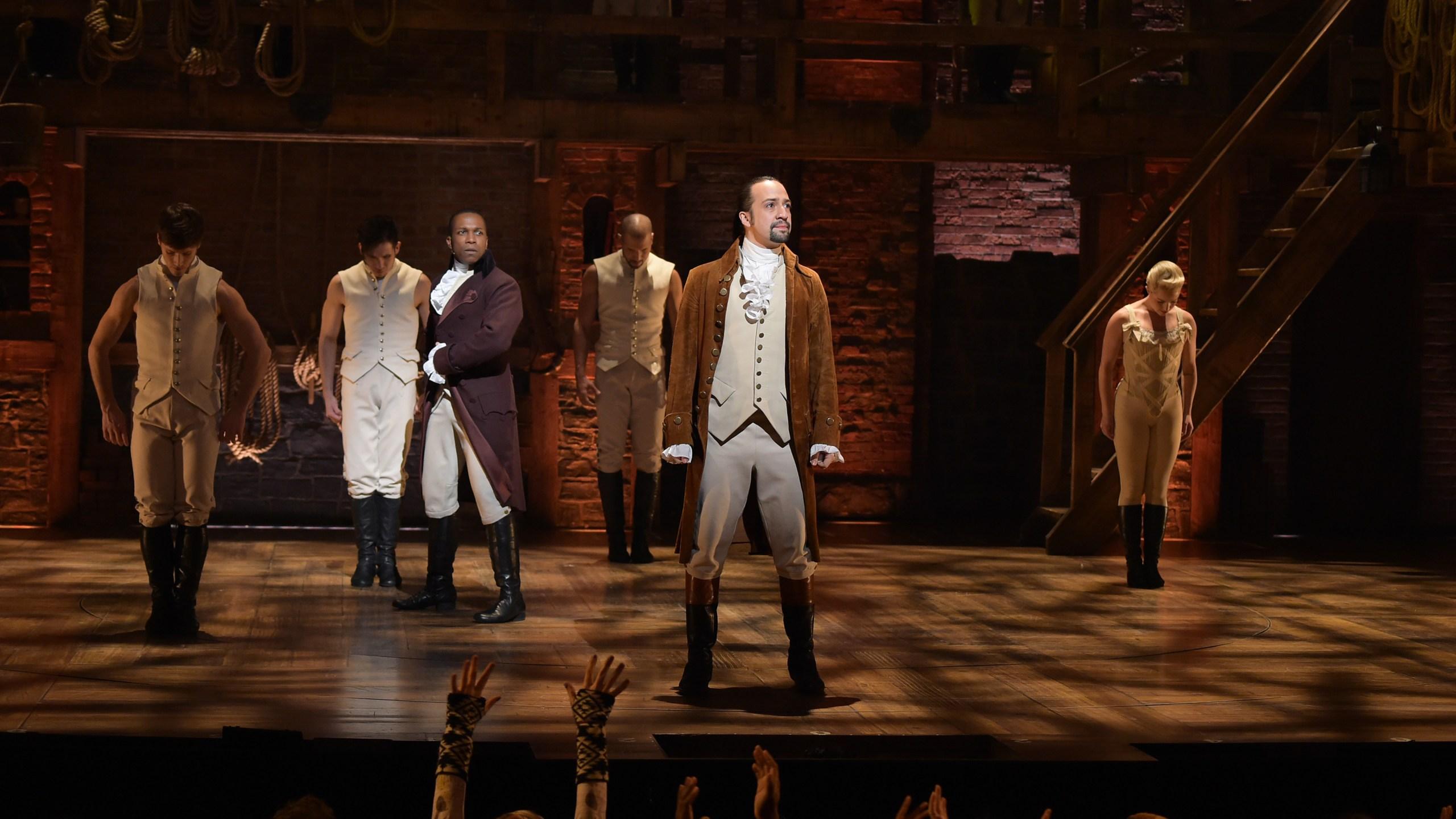 'Hamilton' Broadway show