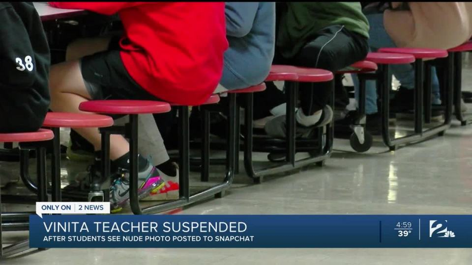 Florida teacher suspended without pay after sending nude