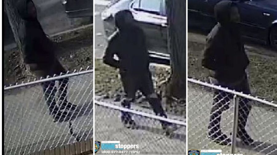 Police say a robber attacked a 60-year-old man in Ozone Park, Queens on February 9, 2020.