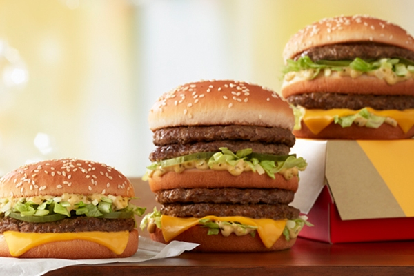 You can now order a four-patty Big Mac at McDonald's