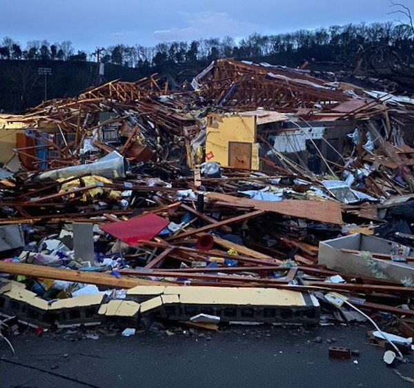 Six killed, at least 20 hurt after tornadoes rip through Nashville, surrounding areas