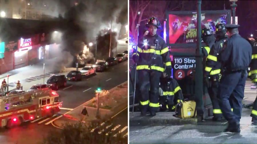 Deadly Harlem subway fire