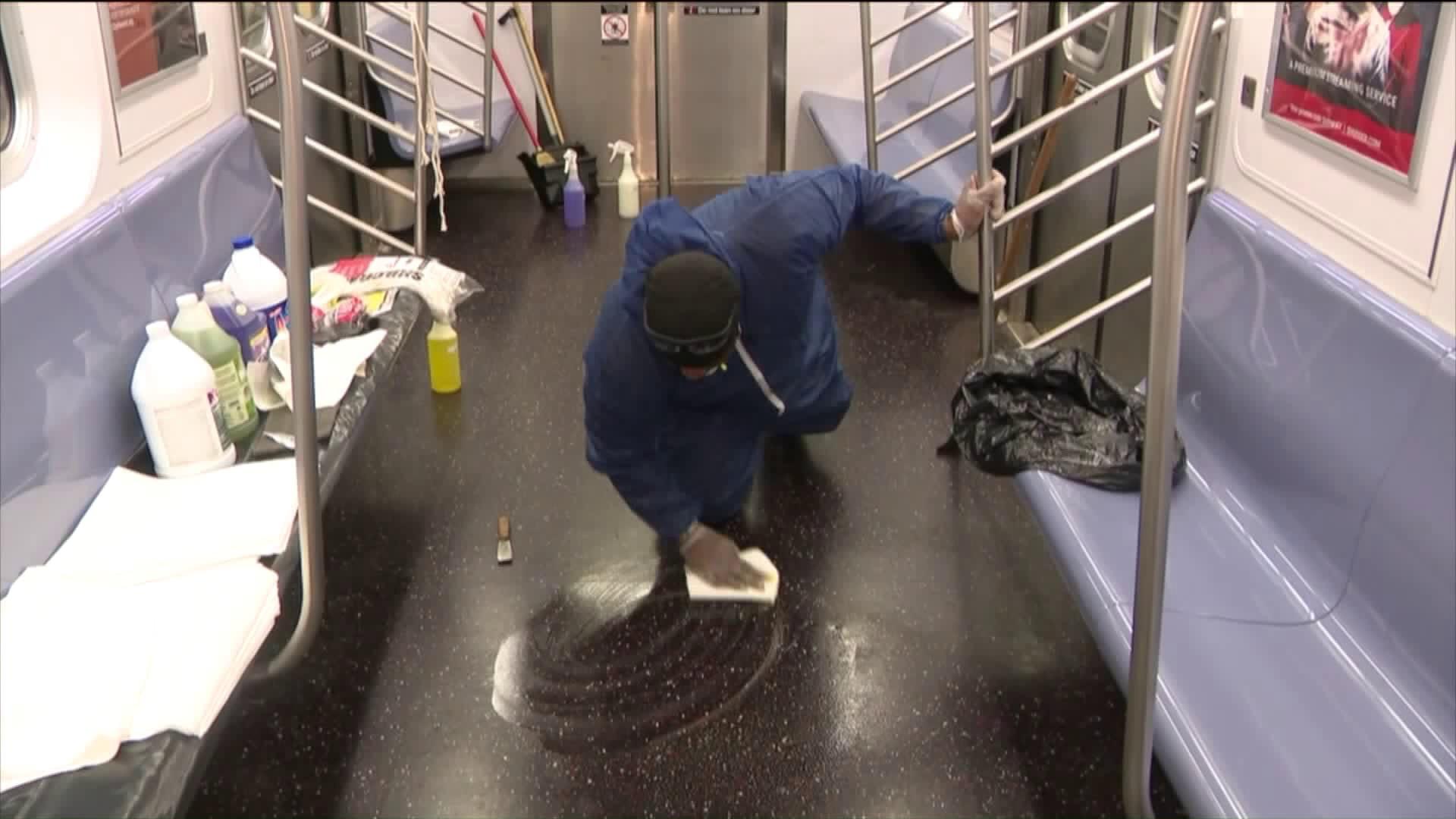MTA coronavirus cleaning