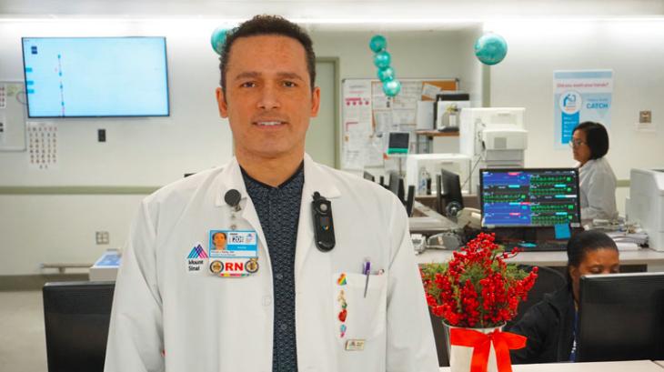 Mount Sinai nurse Kious Kelly