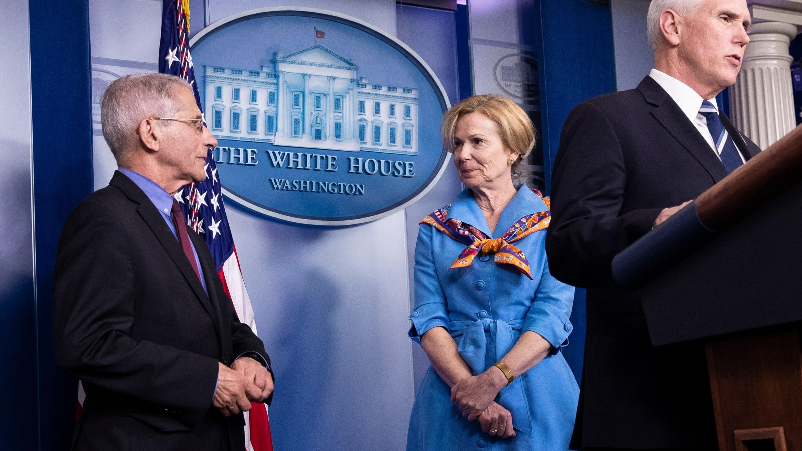 Drs. Fauci and Birx to continue advising Trump on coronavirus