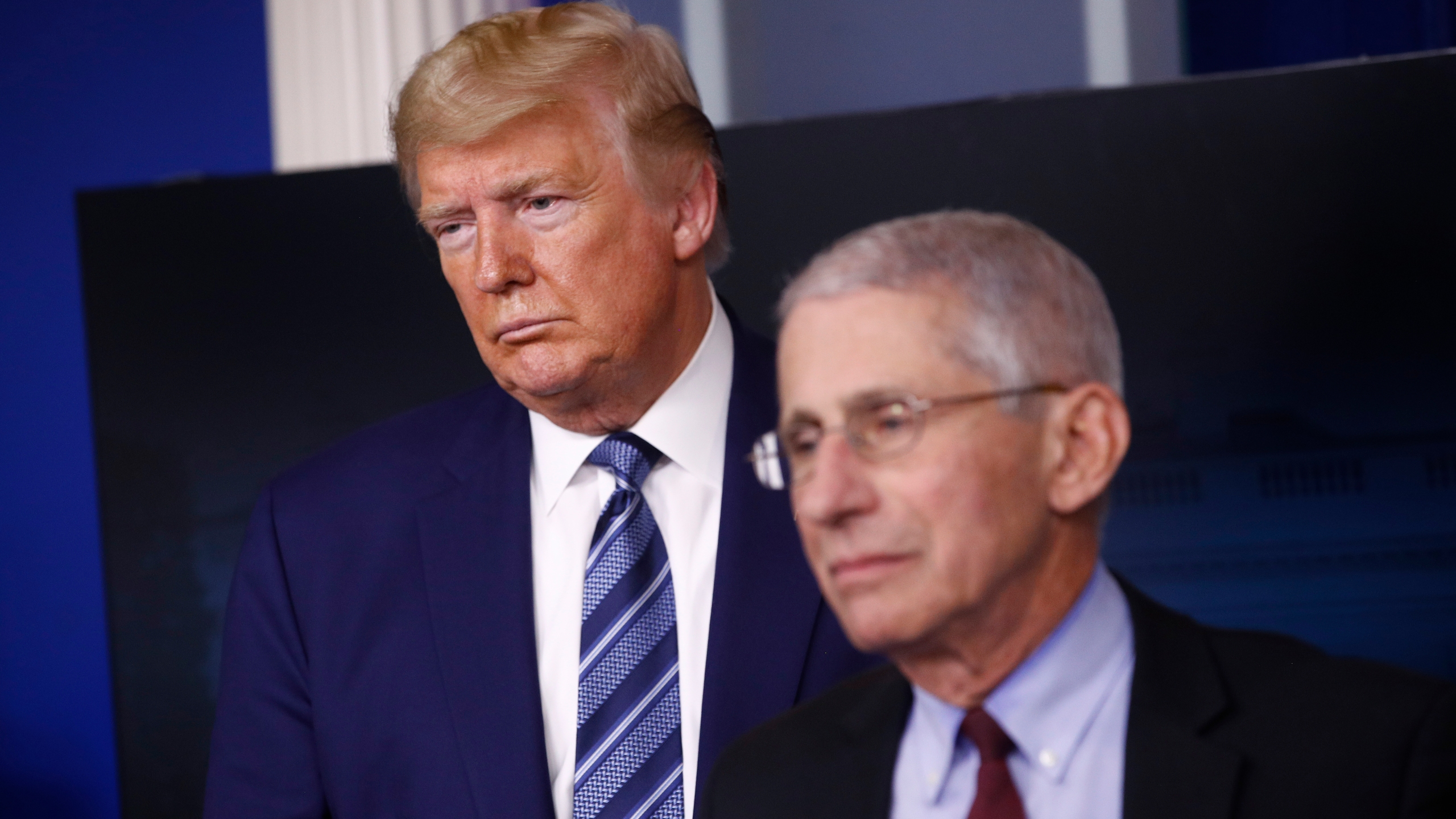 Trump at odds with Dr. Fauci's congressional testimony over reopening schools, economy