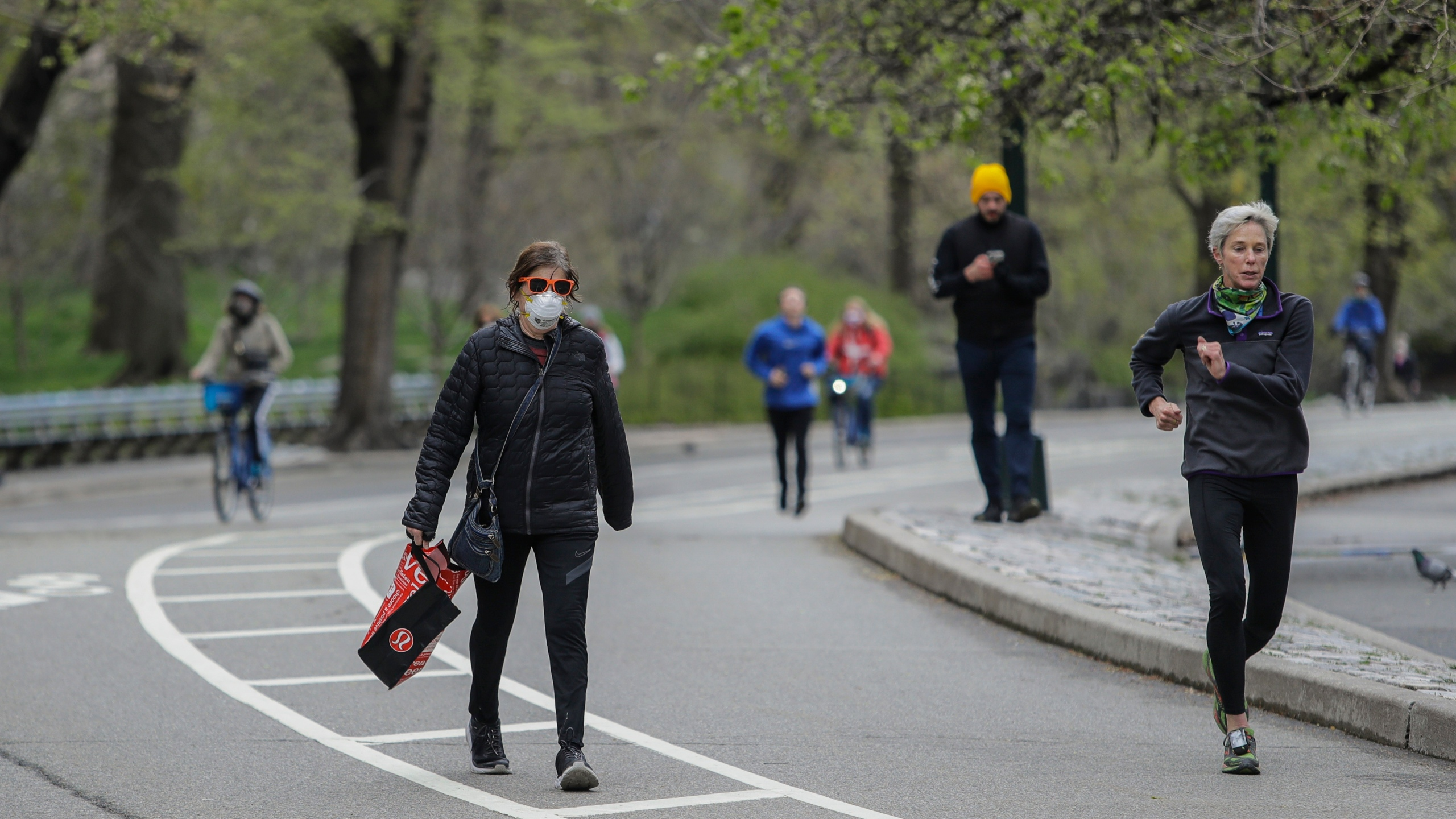 Central Park social distancing coronavirus