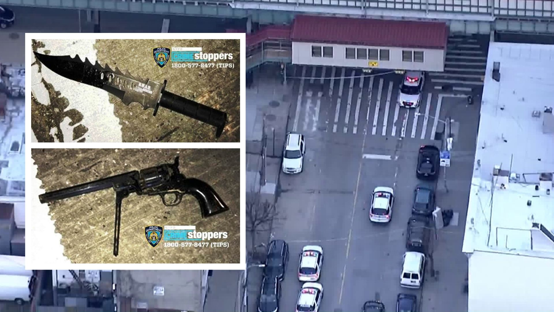 Armed man shot by police officers in Bronx