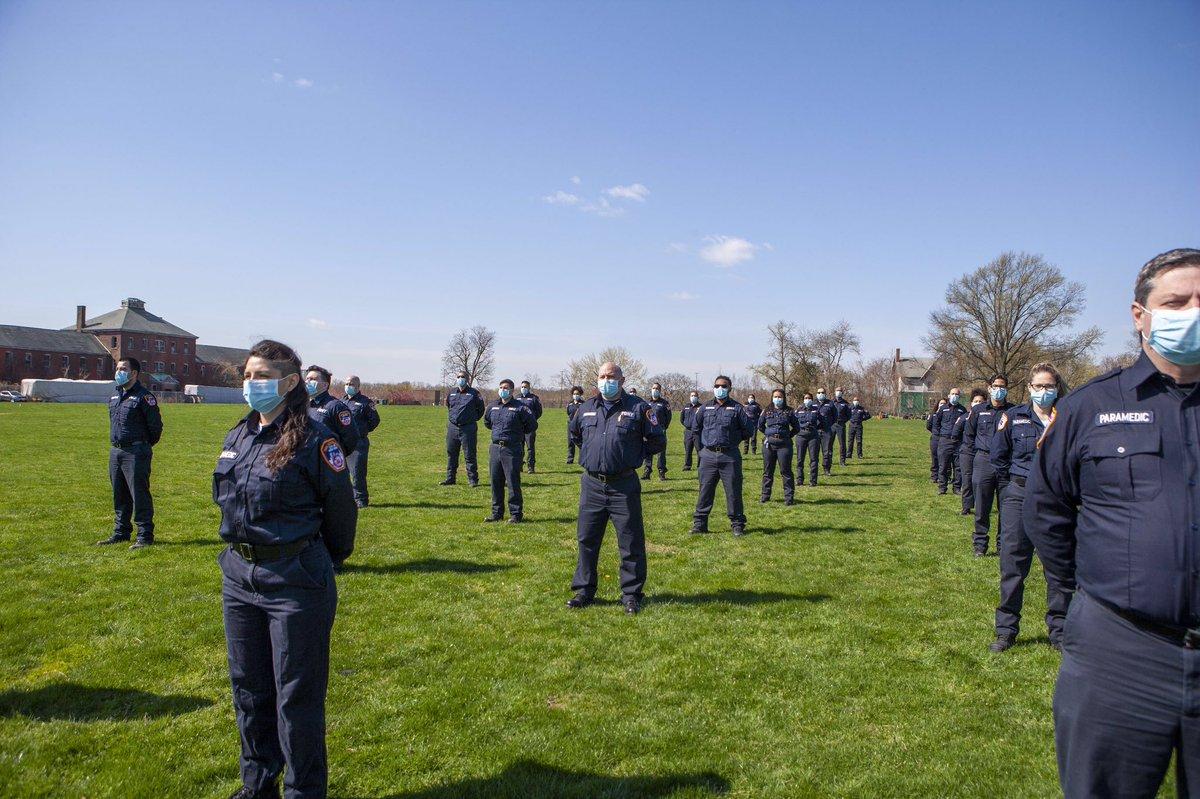 FDNY paramedics graduate early