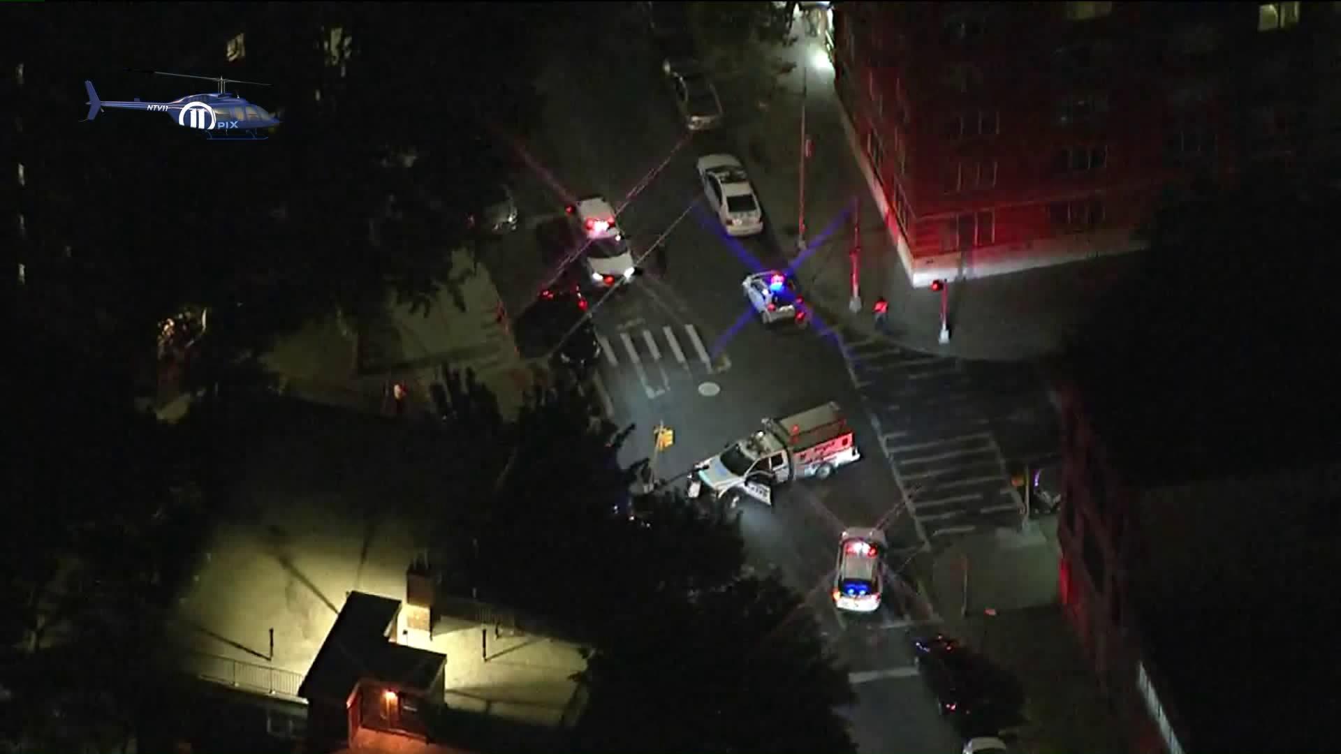 AIR11-TUESDAY NIGHT POLICE INVOLVED SHOOTING - BROOKLYN