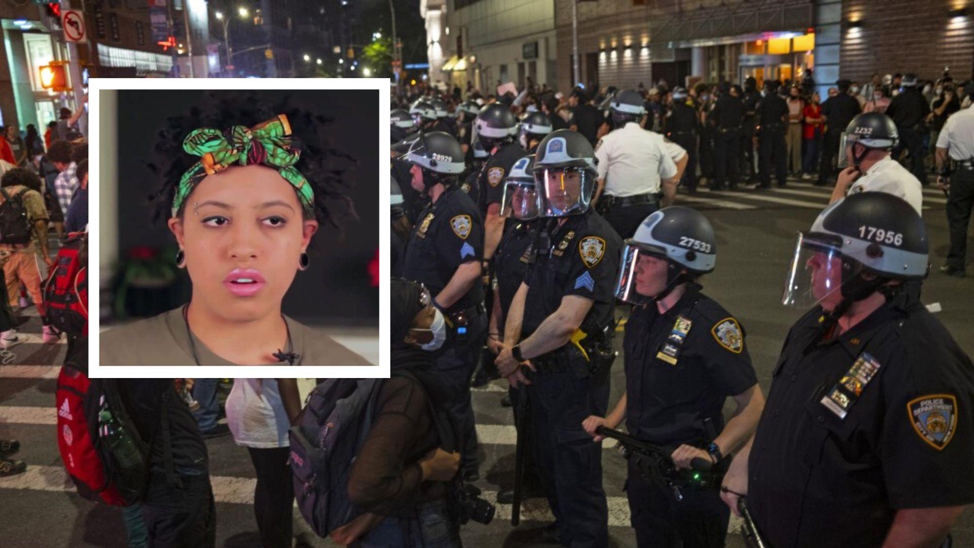 Mayor Bill de Blasio daughter Chiara de Blasio arrested in NYC protests