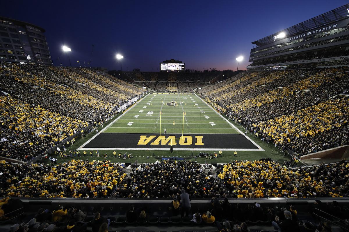 University of Iowa suspends football ticket sales for 2020 season