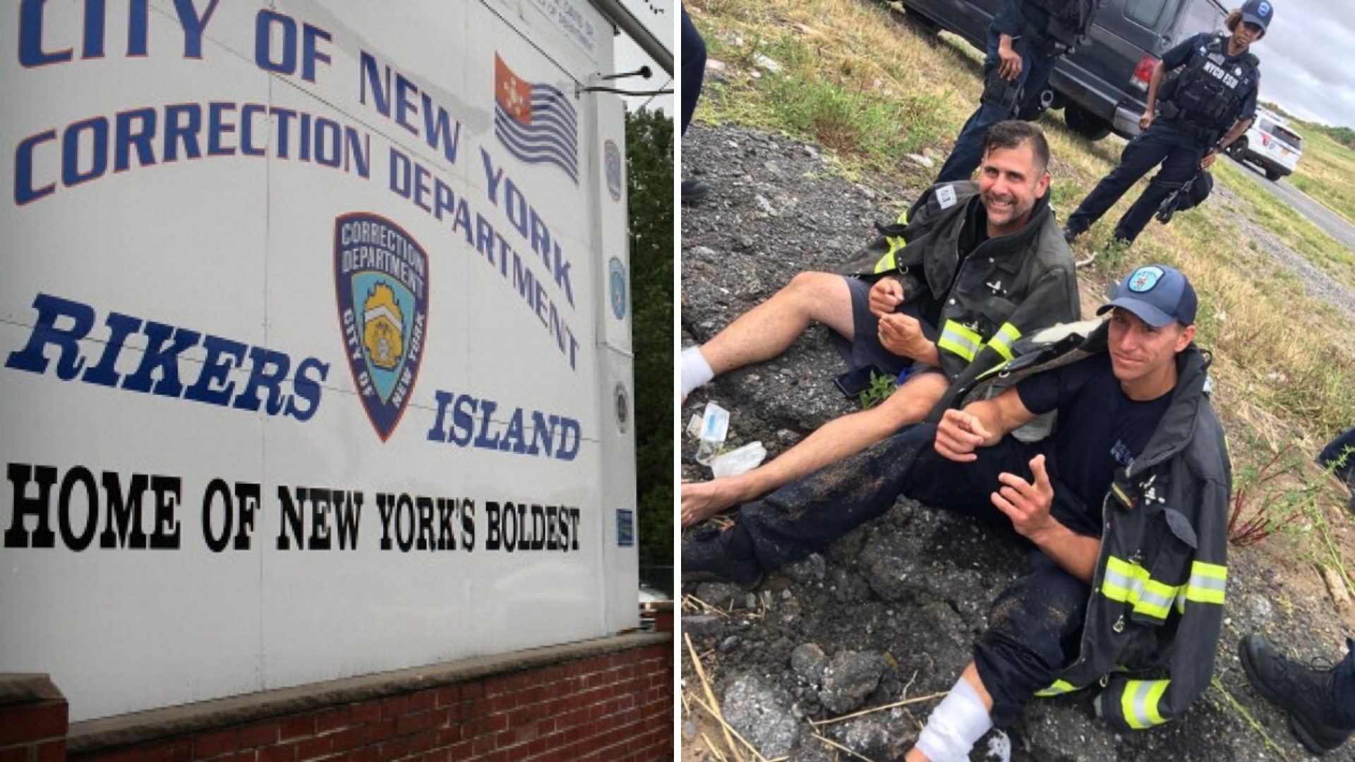 Officers apprehended an escaping inmate at Rikers