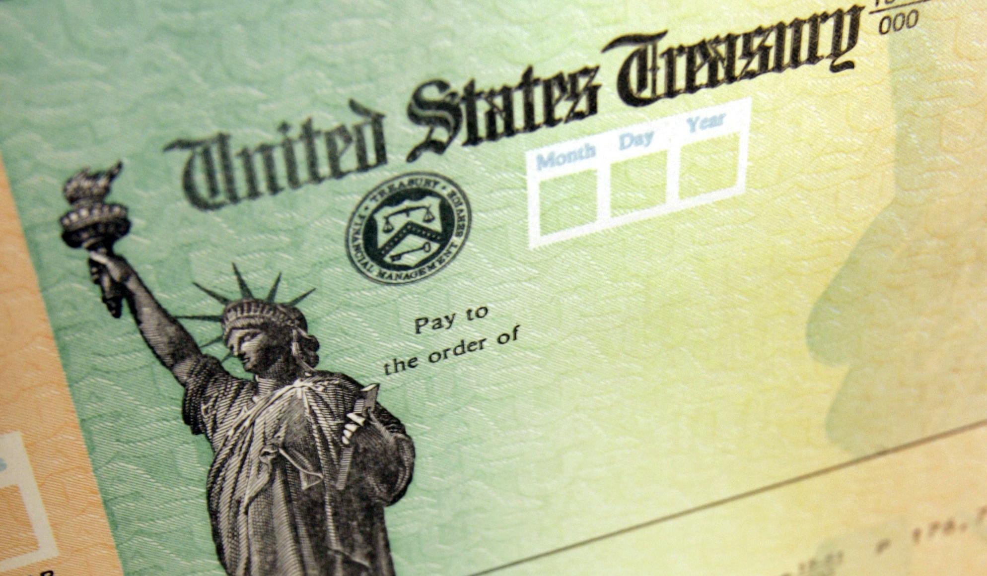 A stimulus check