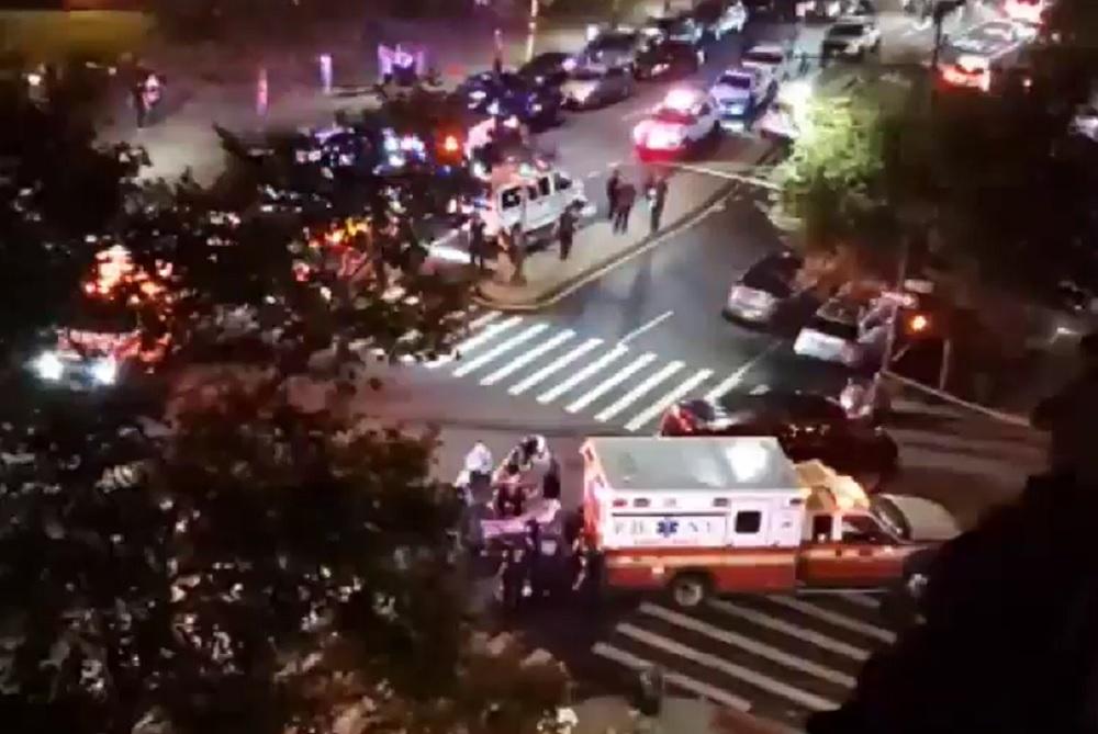 Harlem block party shooting